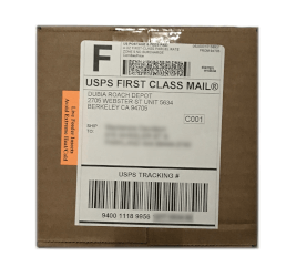 plain brown box package example